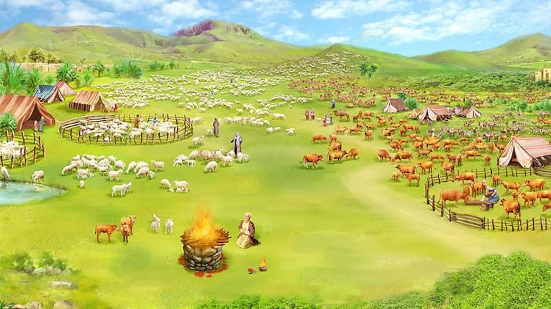 造物主, 亞伯拉罕, 約伯, 全能神