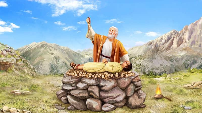 神吩咐亞伯拉罕獻以撒