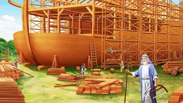 挪亞,方舟,船
