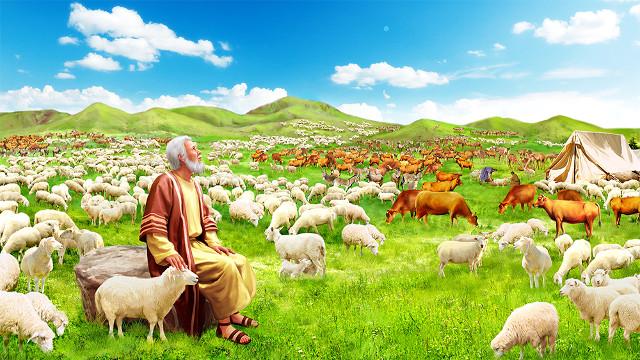 約伯在神的祝福之中度過後半生