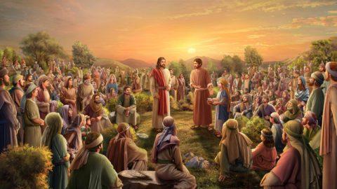 聖經故事:耶穌給五千人吃飽