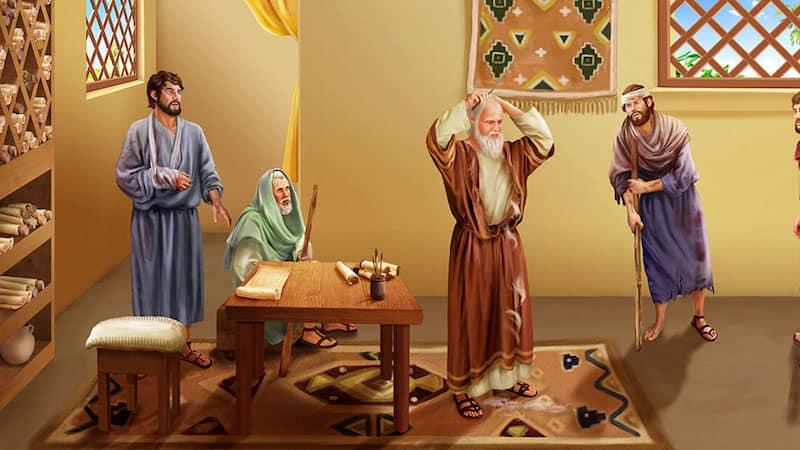 撒但,約伯,敬畏神,聖經人物