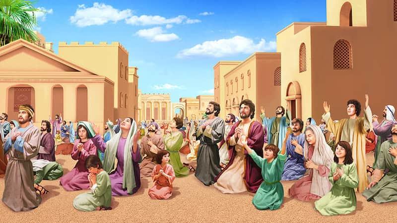 聖經故事,尼尼微城,信服