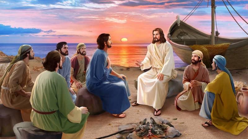 聖經故事,耶穌復活,彼得,多馬,平安