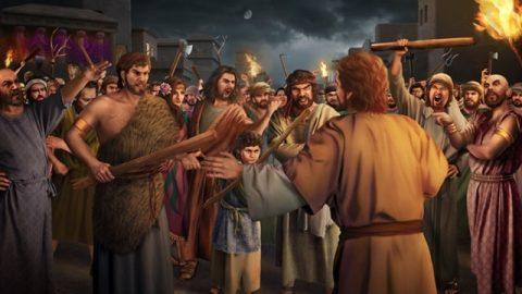 所多瑪城一味地仇視神與神對抗,被神徹底剪除