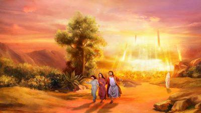 所多瑪,羅得,神的使者
