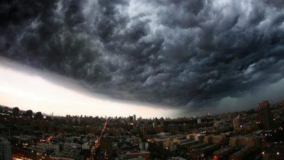 颱風暹芭,海嘯,災難,韓國,報道,警示,危害,避難所