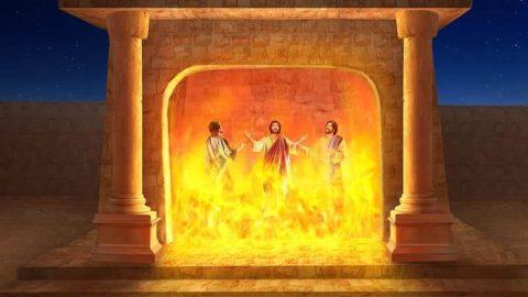 烈火窯,三聖者,敬拜神,猶大人