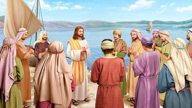 耶穌臨別為門徒禱告