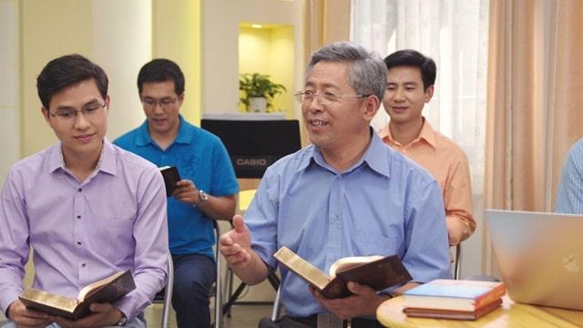 聚會探討關於神的國是在天上還是在地上的問題