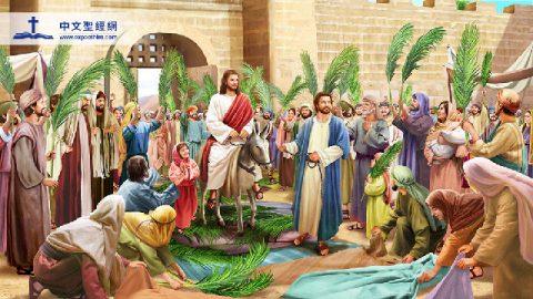 主耶穌進耶路撒冷