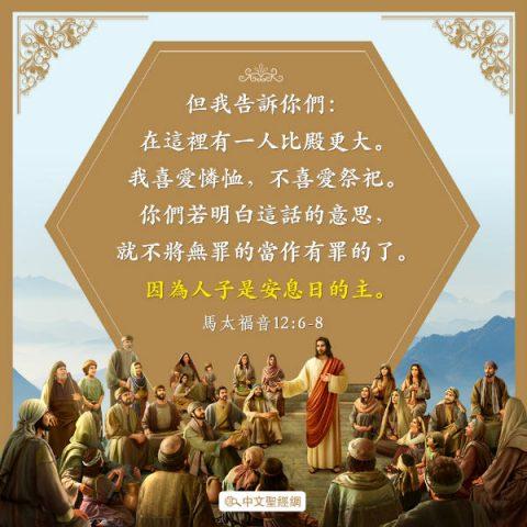 憐恤,聖經卡片