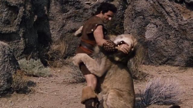 參孫撕裂狮子