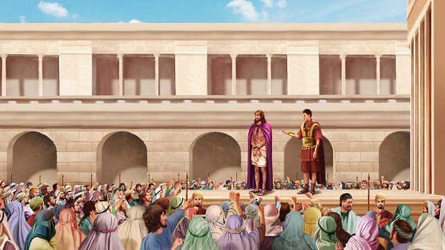 彼拉多定罪主耶穌