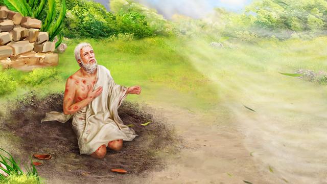 耶和華首次對約伯說話