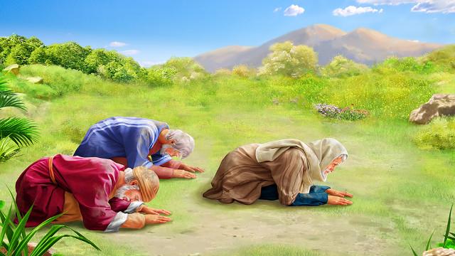 耶和華責備約伯三友
