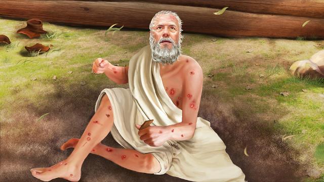耶和華第二次對約伯說話