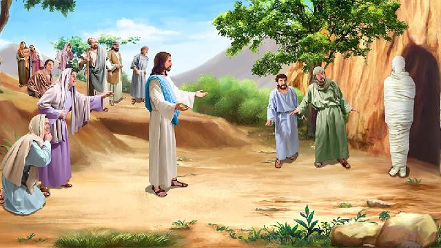 耶穌使拉撒路復活