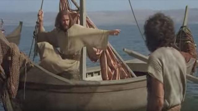 耶穌行神蹟奇事-耶穌捕魚-耶穌電影