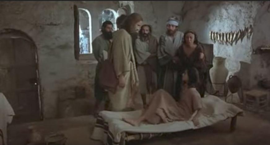 耶穌行神蹟-耶穌讓睚魯的女兒復生-耶穌電影