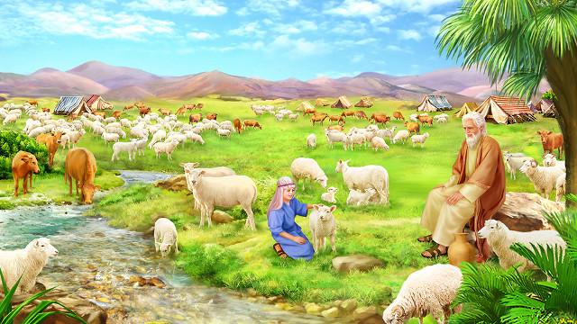 耶和華加倍賜福約伯