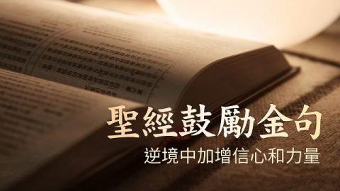 15句聖經鼓勵金句——逆境中加增信心和力量