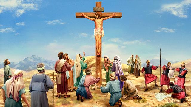 主耶稣 钉十字架 神 救贖
