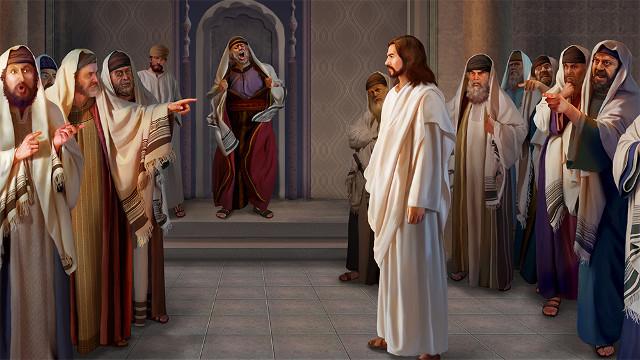 主耶穌,法利賽人