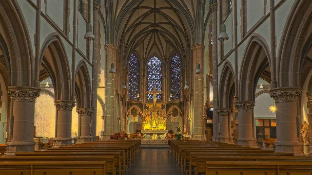 教堂 教會荒涼