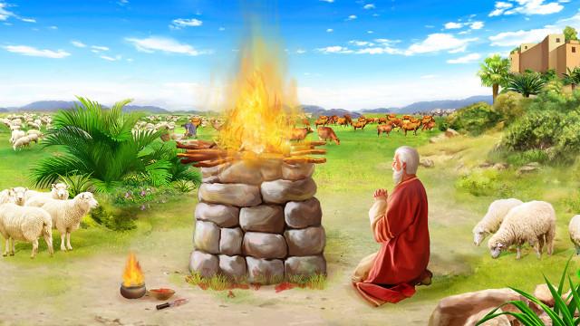 神將約伯交與撒但與神作工的宗旨的關係