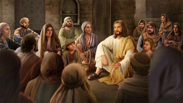 主耶穌作工講道