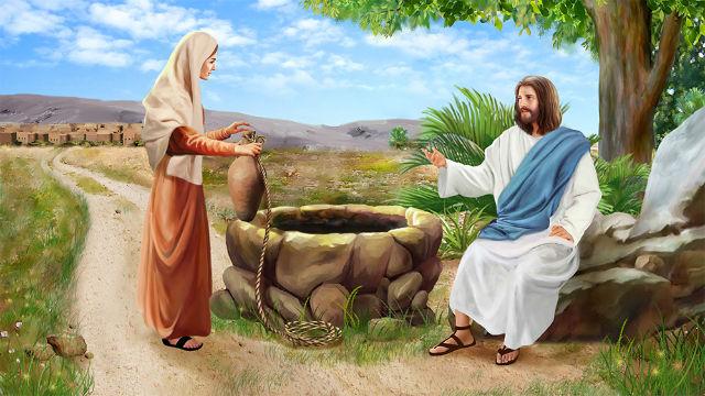 主耶穌與撒瑪利亞婦人