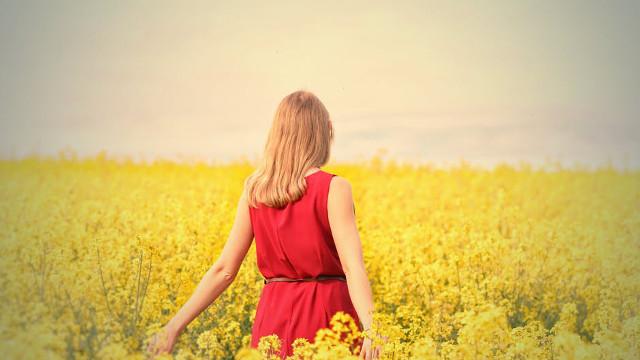 女人,春天
