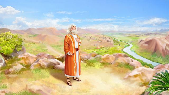 神與亞伯拉罕對話