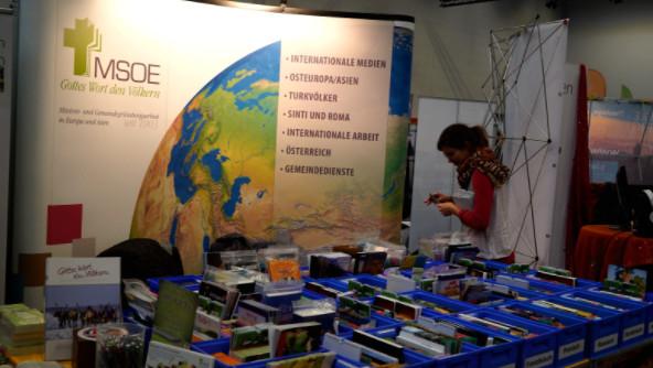 Die Mission für Süd-Ost-Europa (MSOE) 的展台