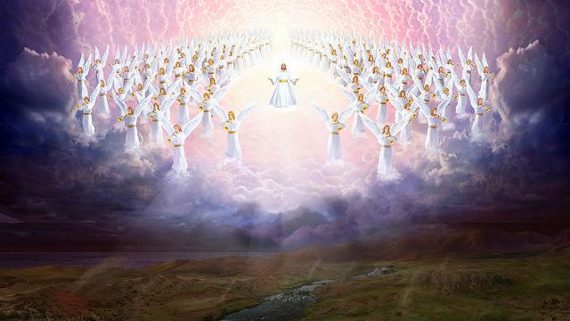 主耶穌駕雲降臨