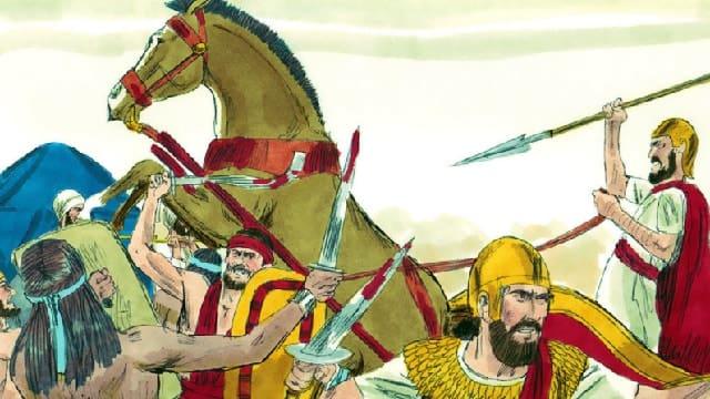 以色列人戰敗