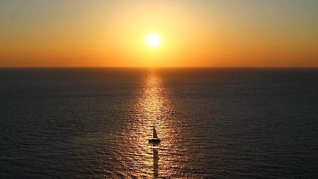 夕陽,希望