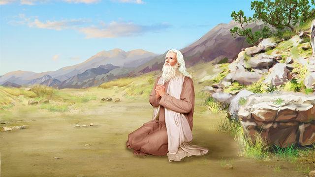 撒母耳向耶和華神禱告