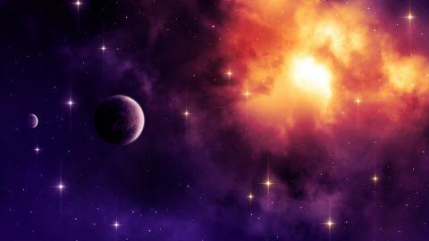 宇宙,星空,行星