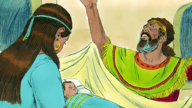大衛王,拔示巴,大衛的兒子