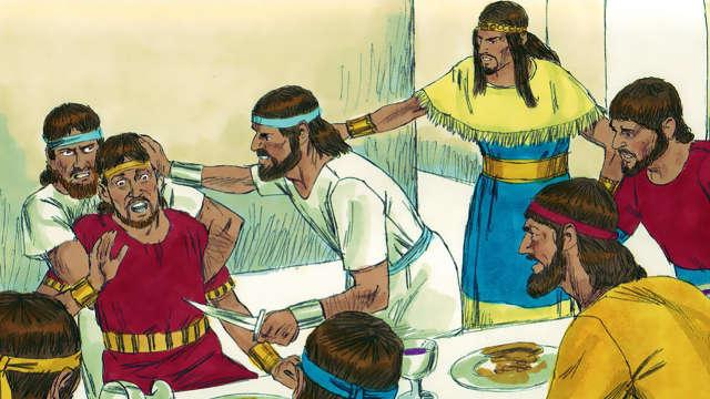 押沙龍,暗嫩,聖經人物