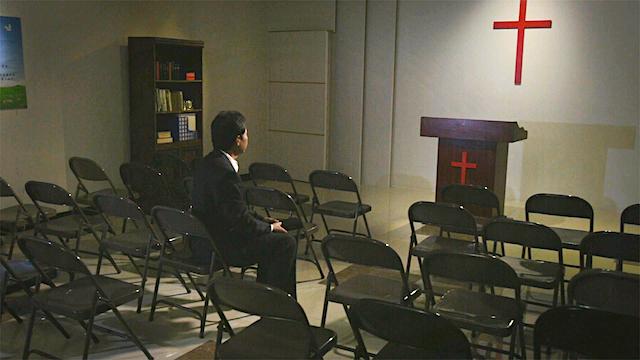 教堂,呼求主,十字架