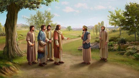 主耶穌,拿但業,門徒