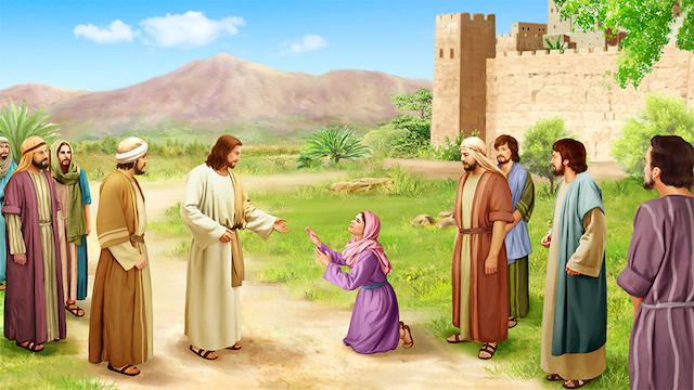 主耶穌,迦南婦人