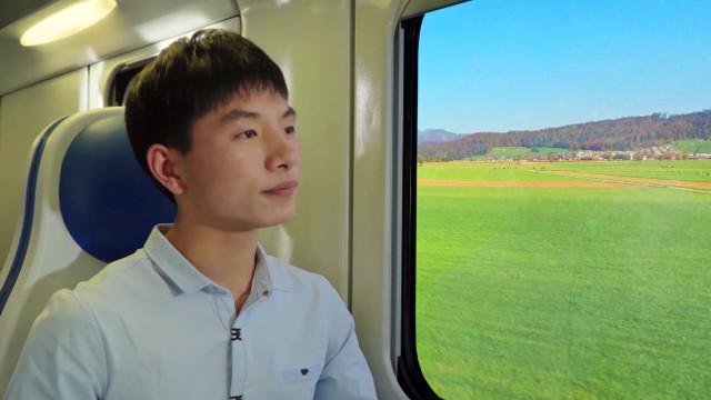 列車,男子