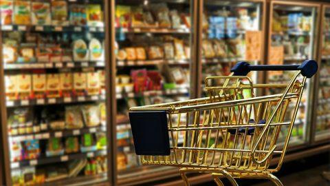 購物車,超市