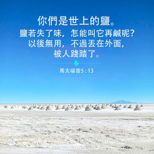 馬太福音,世上的鹽