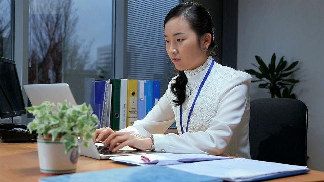 辦公室,打字,工作