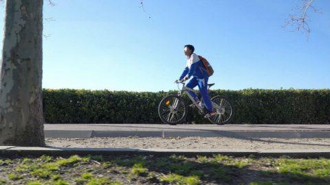 學生,騎車